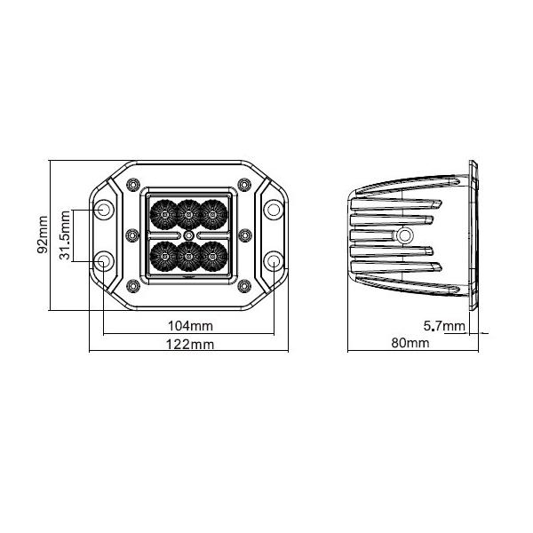 cube light kit  76002
