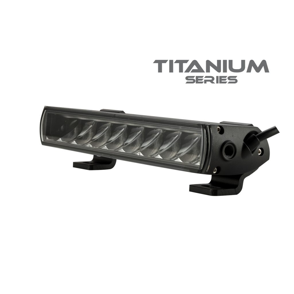 -Titanium Series 10″ Single Row #771102