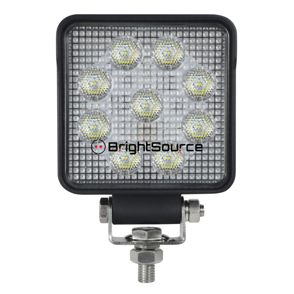 4″ Square Work Light Flood #791152F