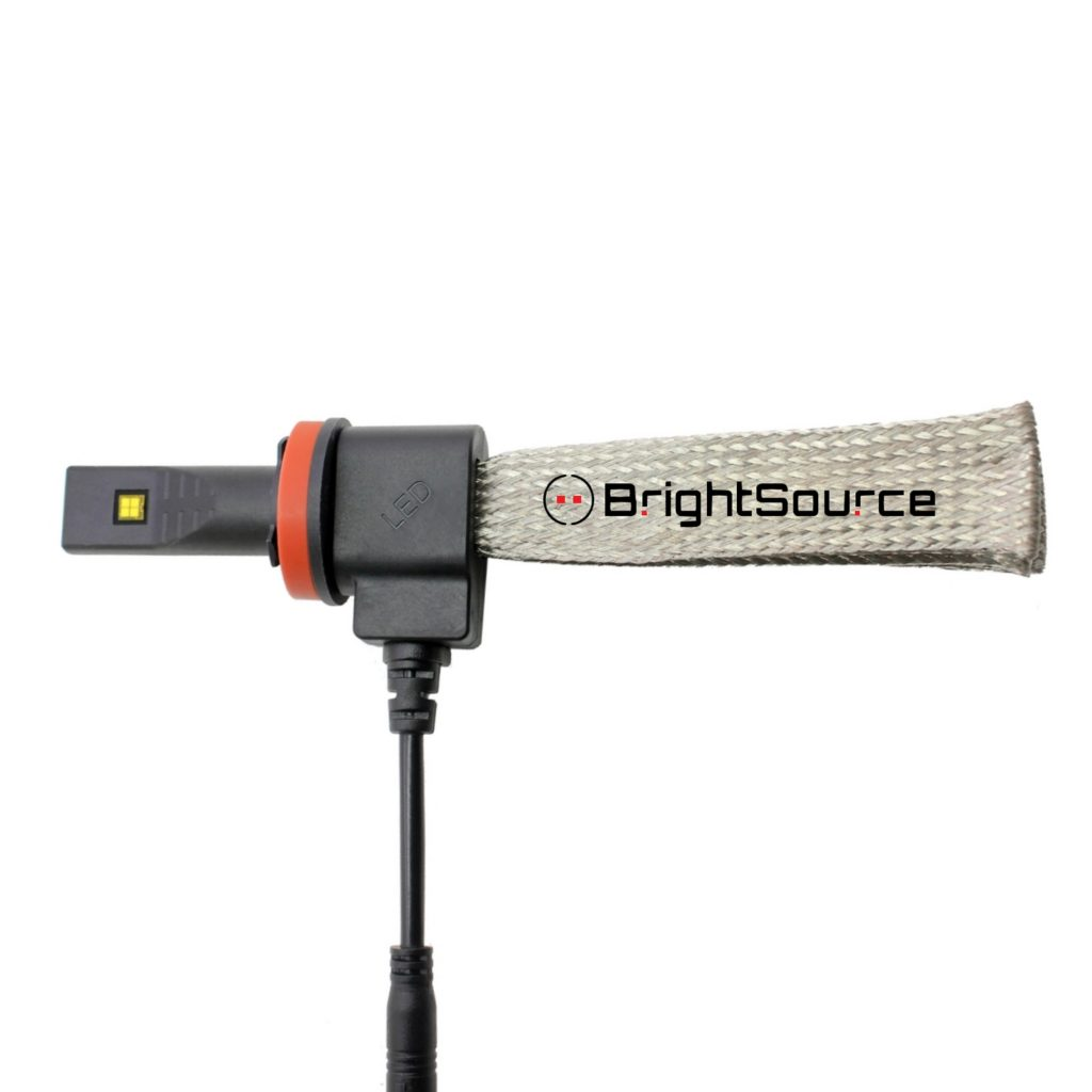#84998 H8- Fog LED Kit Woven Heatsink