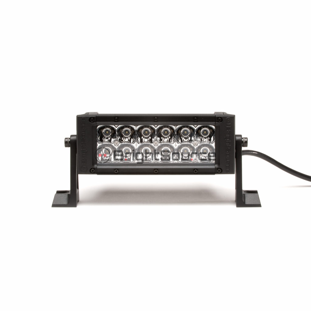 Double Row E-Code #72006E LED Light Bar 6″