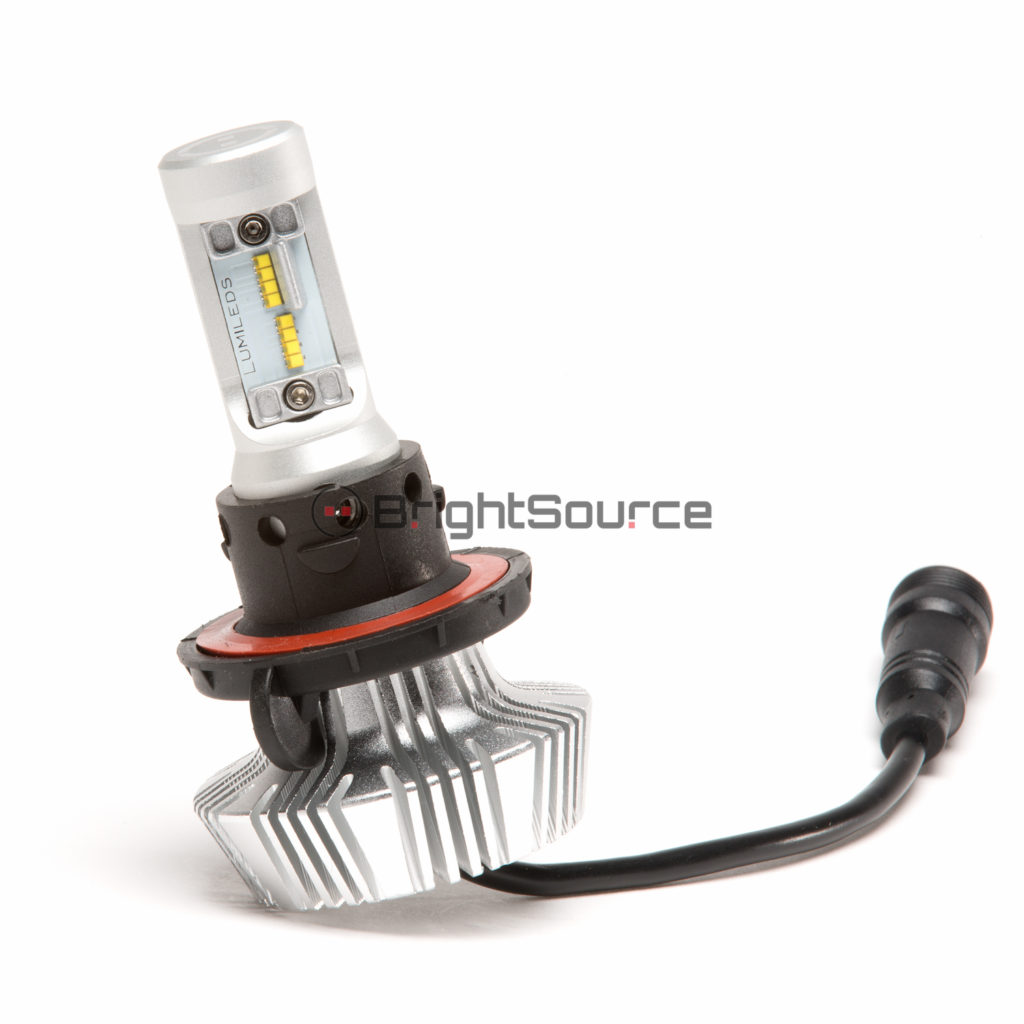 41913 H13 – High/Low LED Single Bulb Reversible Heatsink