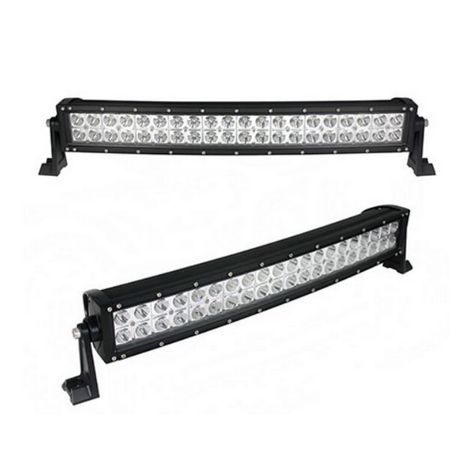 Double Row Curved City Series #72420 LED Light Bar 22″