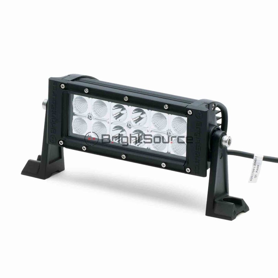 shop for durable 2280 lm double row led light bar bright source. Black Bedroom Furniture Sets. Home Design Ideas