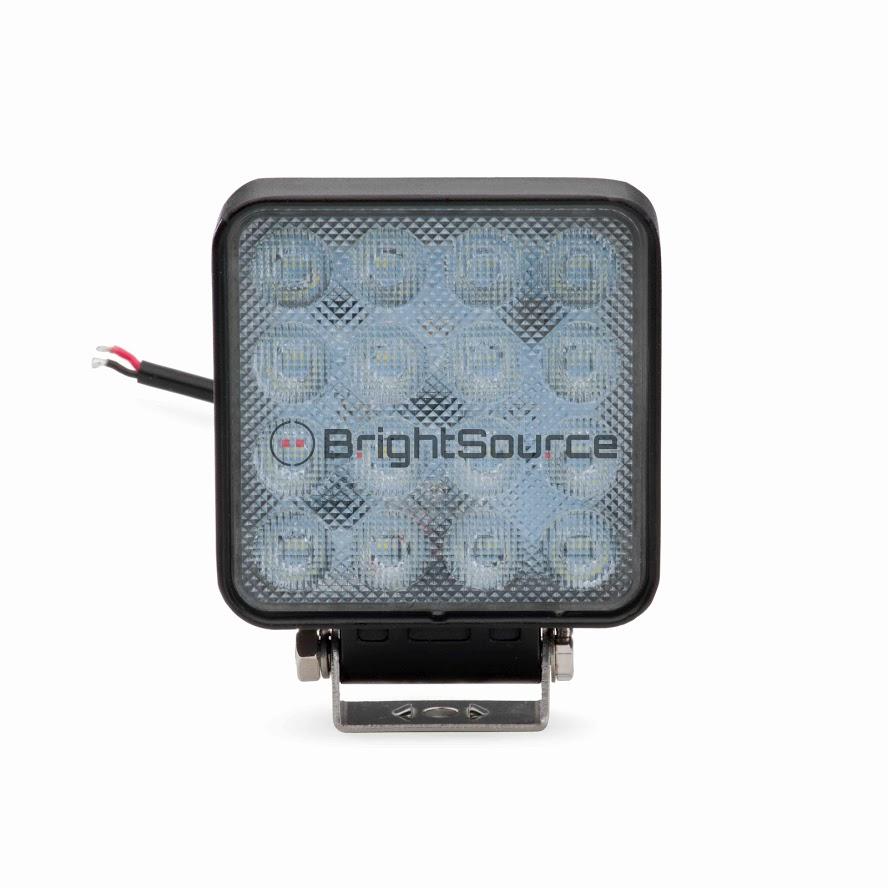4″ Square High Intensity Work Light Flood #791482F