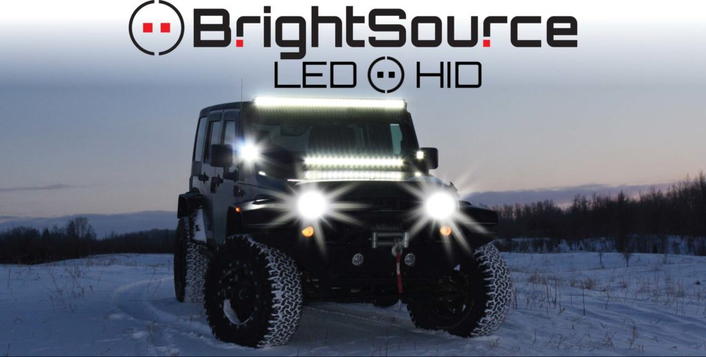 Which LED auxiliary light technology is best for off-road vehicles?