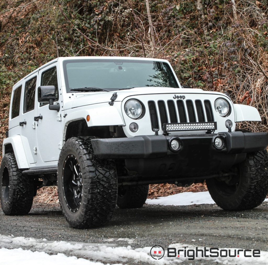 Light Bar Bracket Kit 2007 Jeep Wrangler Jk 212007 Kits