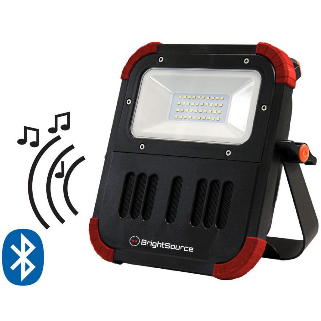9″ x 10″ Portable Work Light with Speakers #791104R
