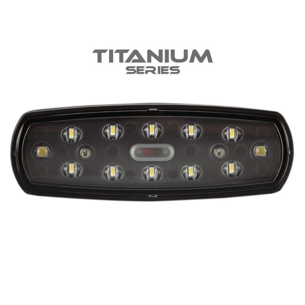 Reverse/Work Light Titanium Series (sold in pairs) #776152