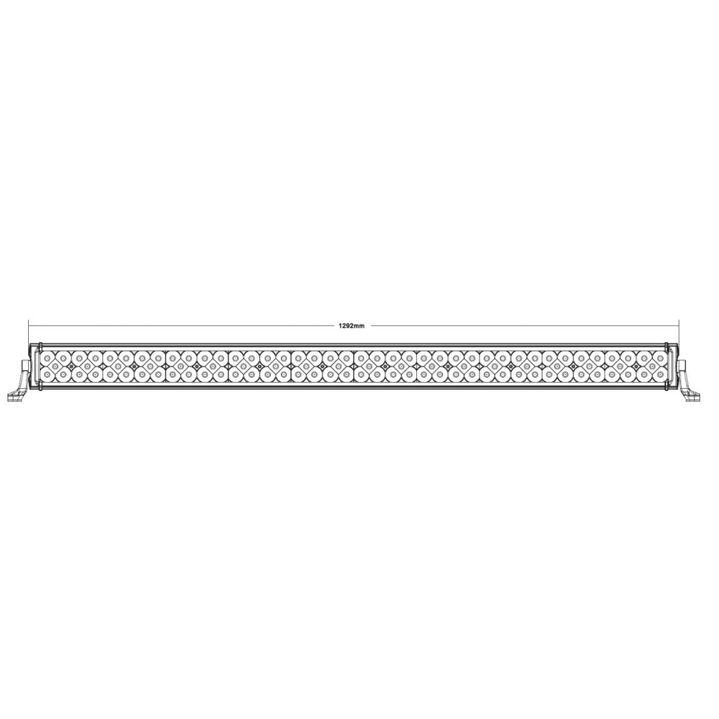 Three Row 51″ LED Flood/Spot Light Bar #73150