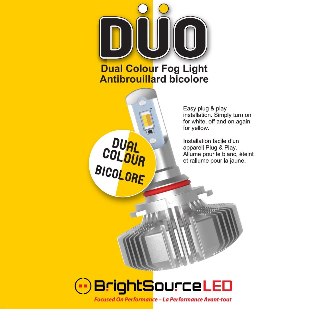 DUO LED Fog Light Bulbs, Twin Pack