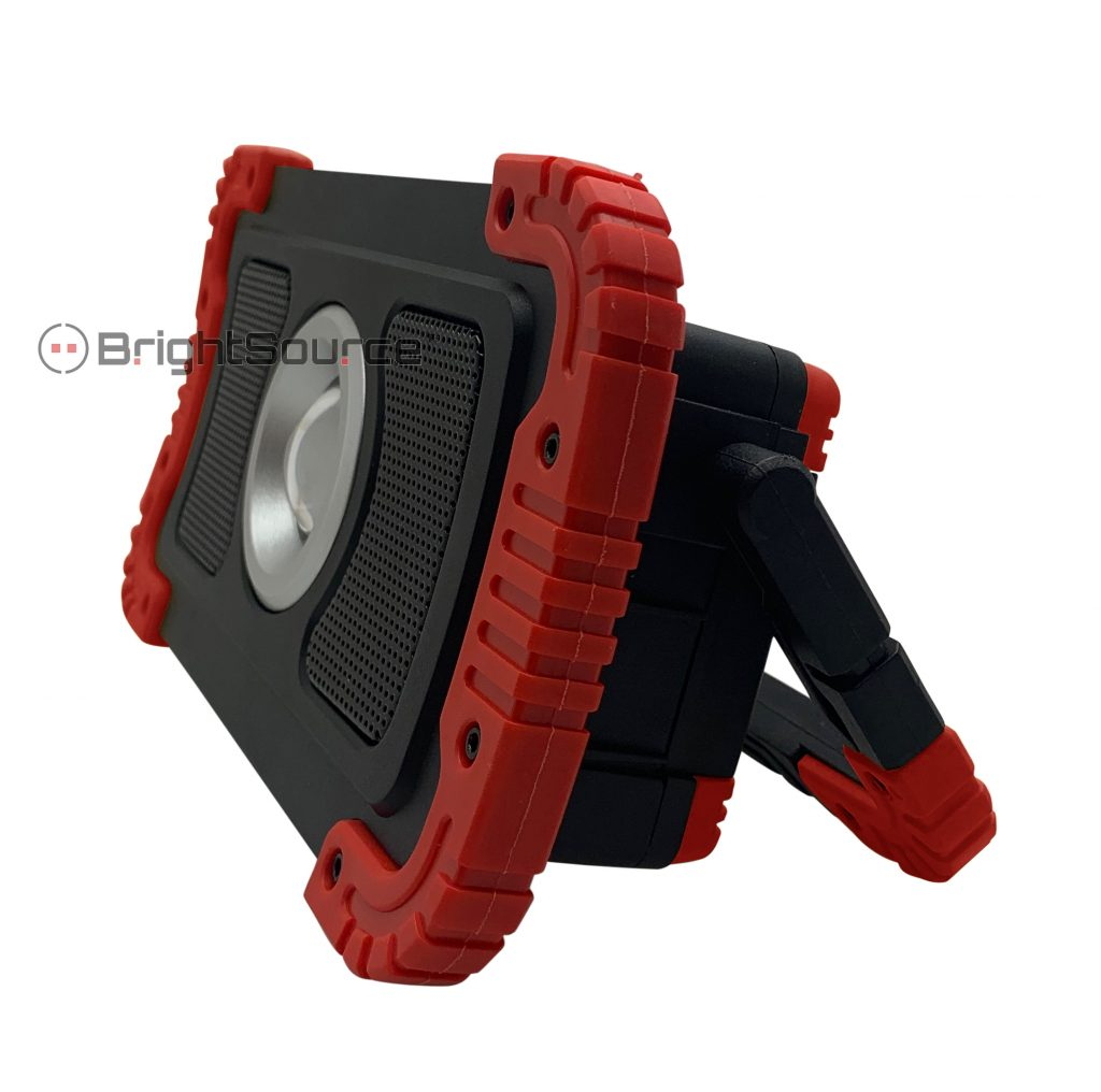 Rechargeable Portable Work Light with Bluetooth Speaker #791106R