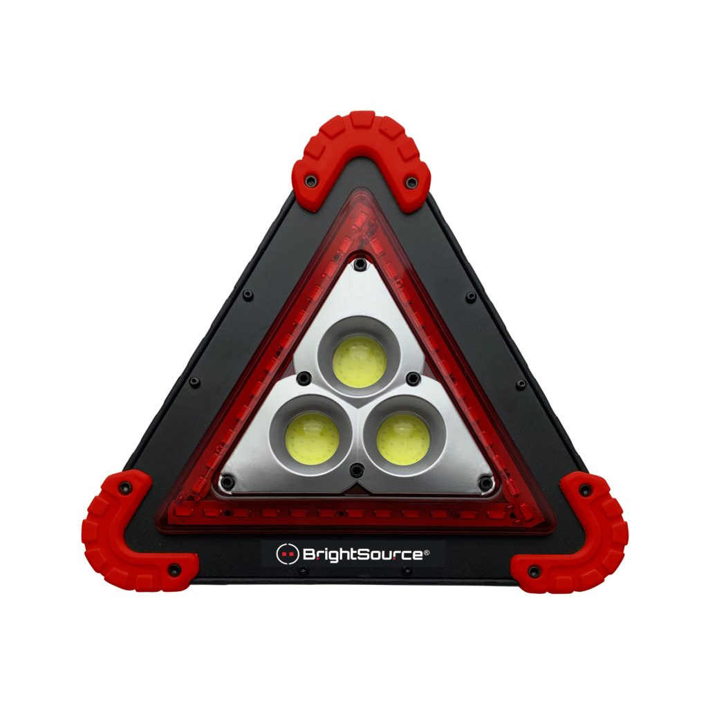 Rechargeable Triangular Safety Light #791109R