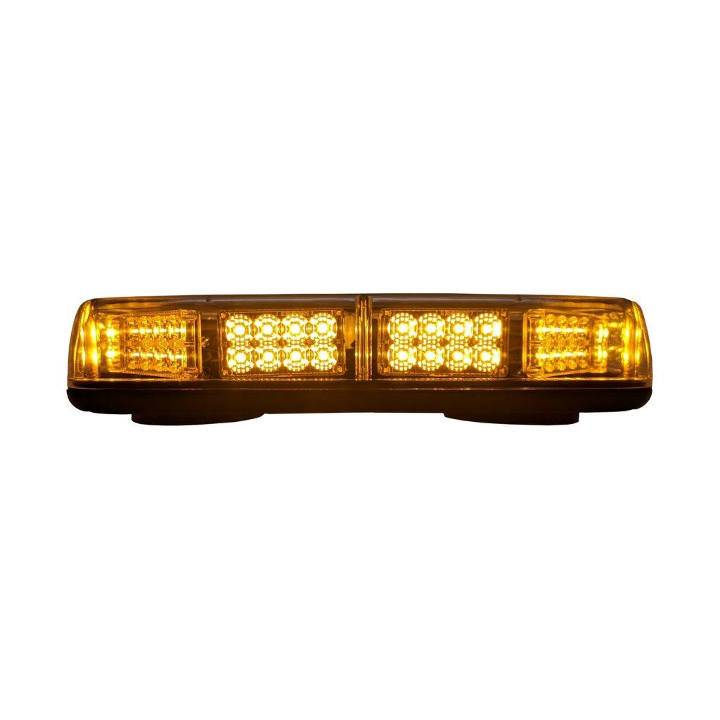 Mini Light Bar, 10 Flash Patterns, SAE Class 1 #S2MM80A