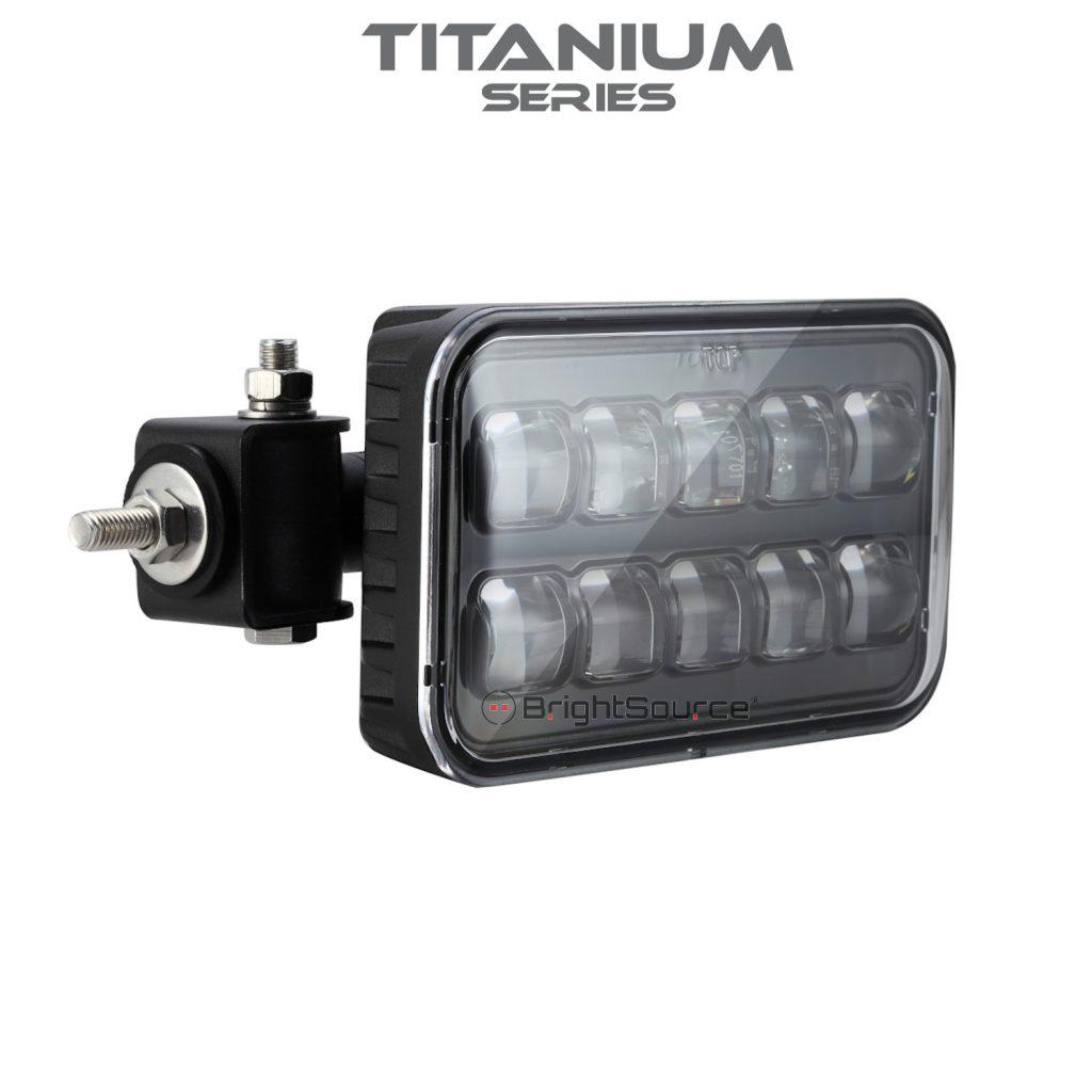Zero Glare Reverse/Work Lamp Titanium Series #779150